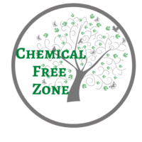 chemical free zone logo