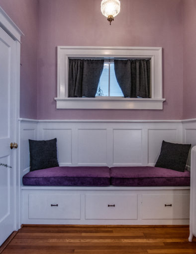 purple room with quilt view 3